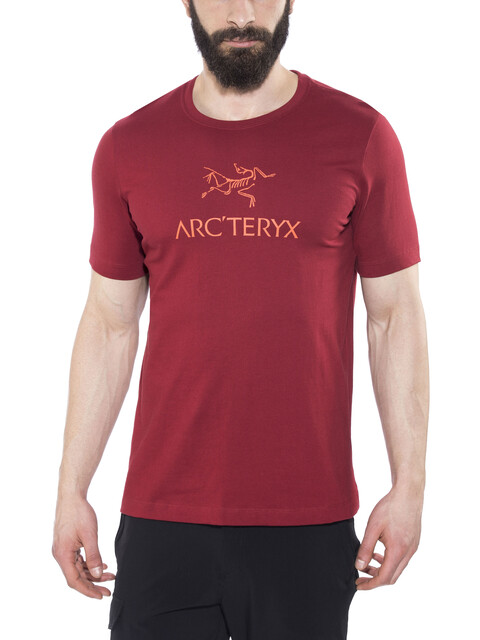 Arc'teryx M's Arc'word HW SS T-Shirt Volcano